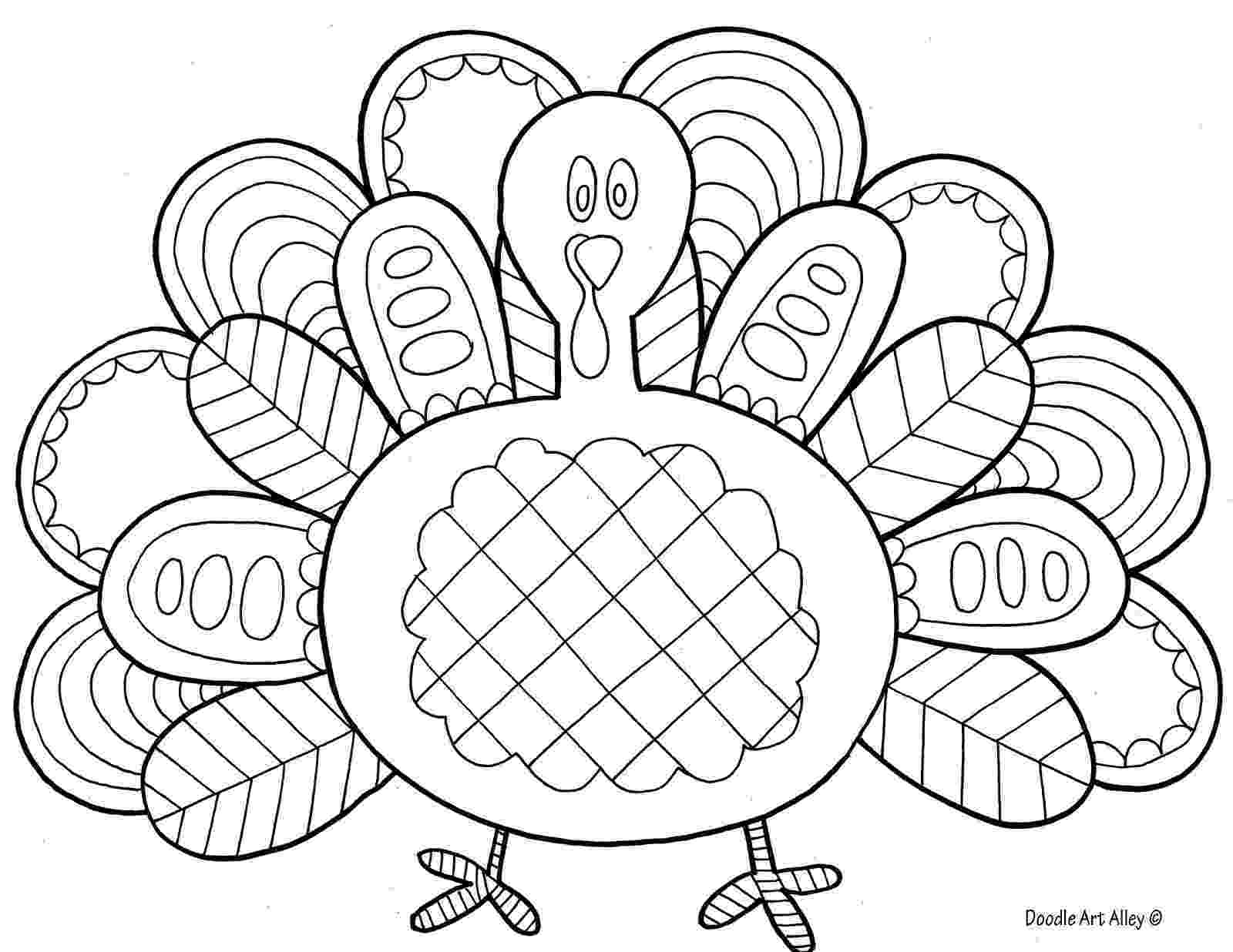 turkey coloring free printable turkey coloring pages for kids cool2bkids coloring turkey 1 3