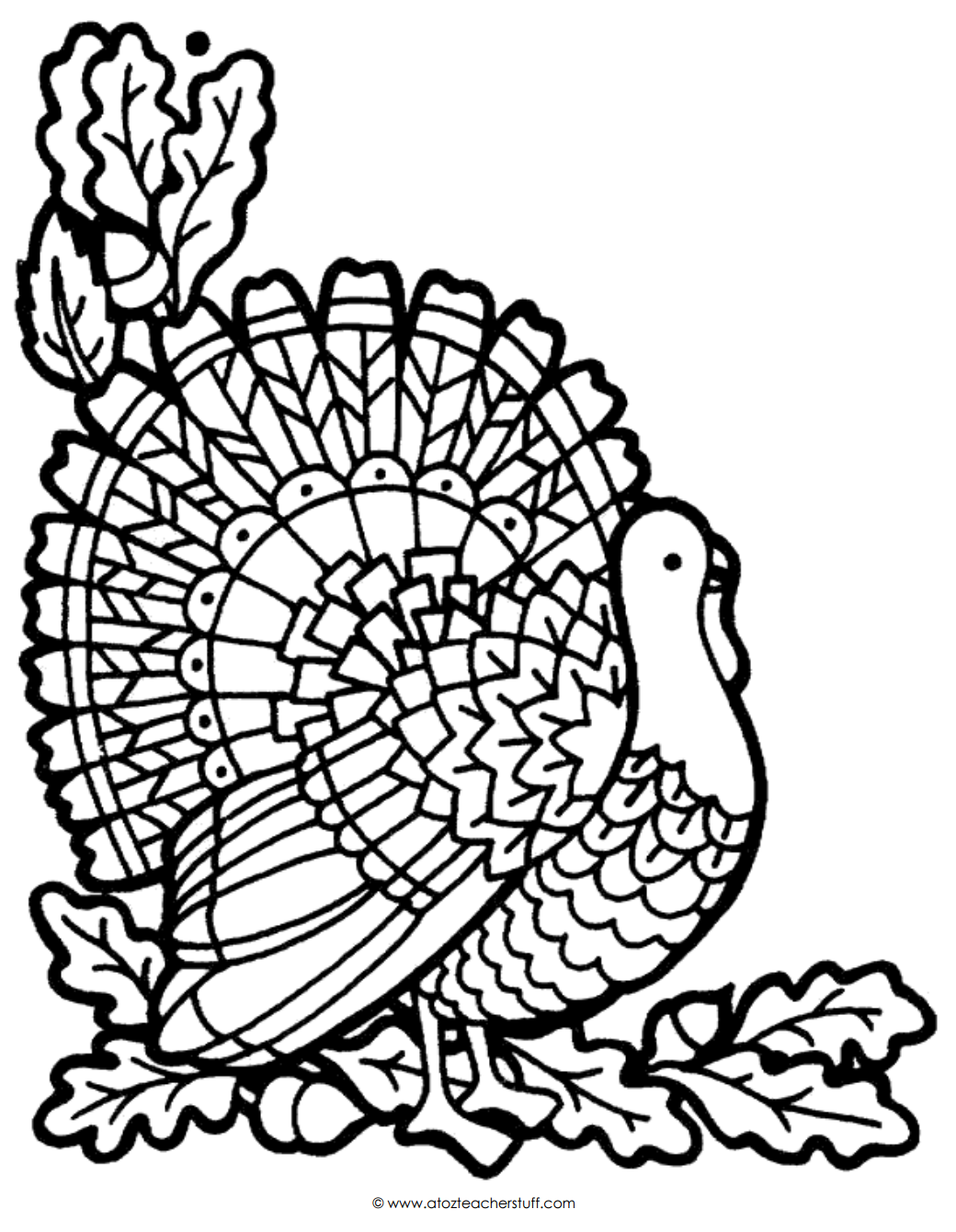 turkey coloring sheet turkey coloring page a to z teacher stuff printable turkey sheet coloring