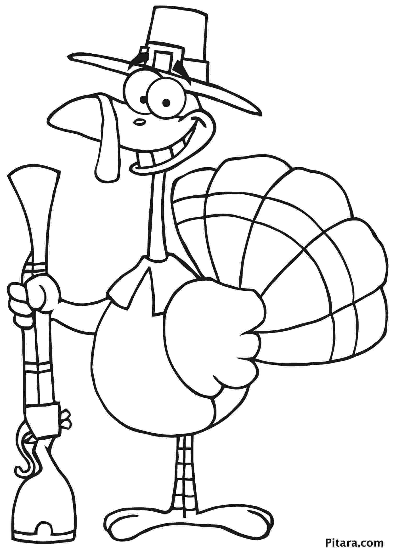 turkey coloring turkey coloring pages for kids pitara kids network coloring turkey