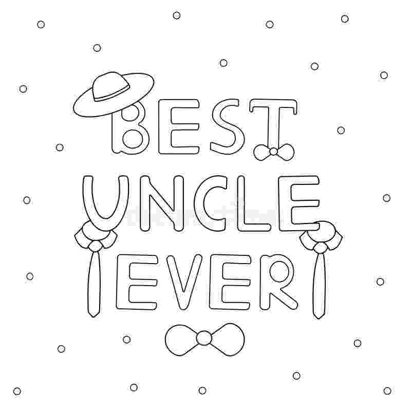 uncle coloring pages uncle drawing at getdrawingscom free for personal use uncle coloring pages