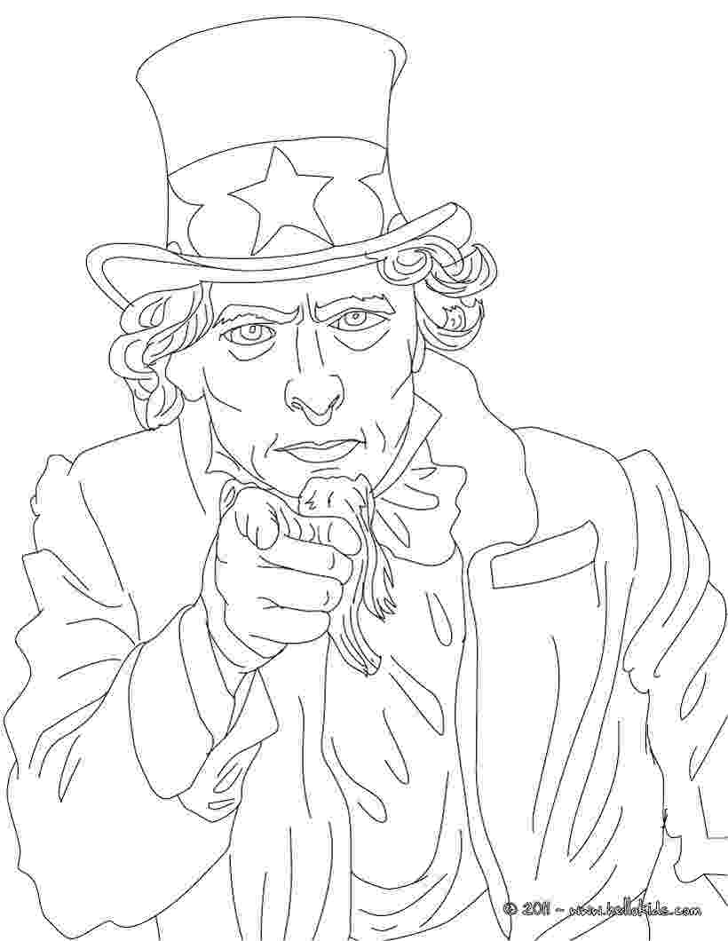uncle sam coloring pages printable uncle sam coloring page free pdf download at coloring uncle sam pages