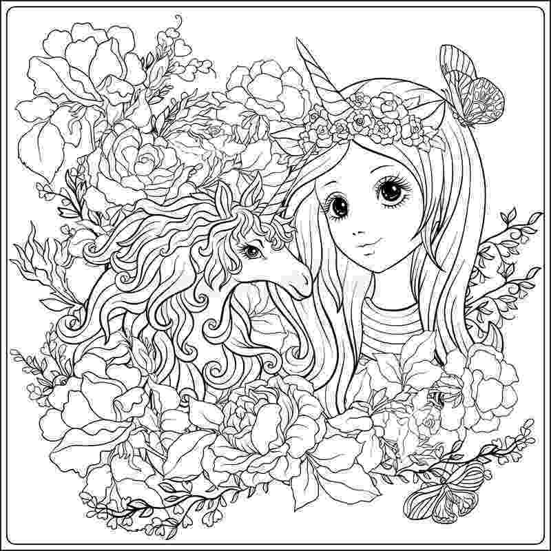 unicorn coloring pages for girls coloring pages kids coloring page free printable unicorn for girls unicorn coloring pages