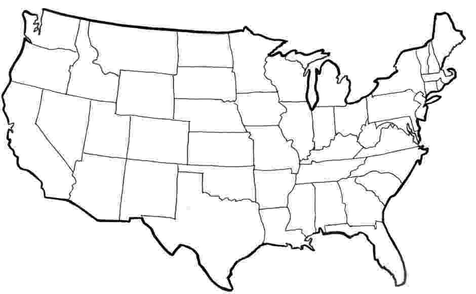 united states coloring page map of the united states landscape coloring page page coloring united states