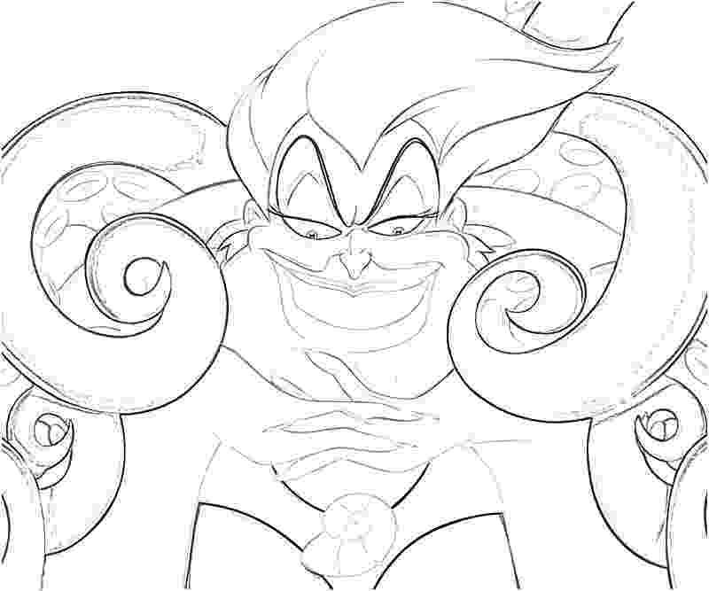 ursula coloring pages ursula smirk star sasa coloring pages ursula