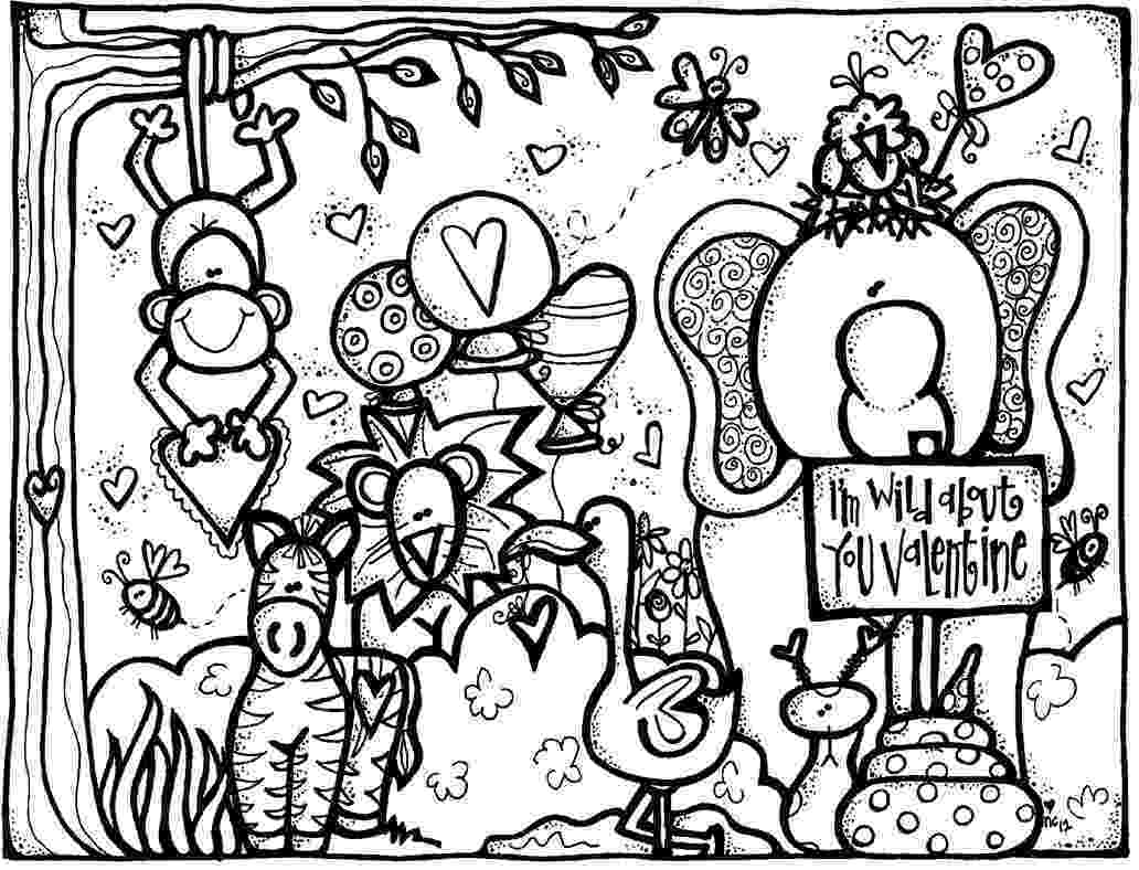 valentine day coloring sheets melonheadz valentine39s day coloring page valentine sheets coloring day