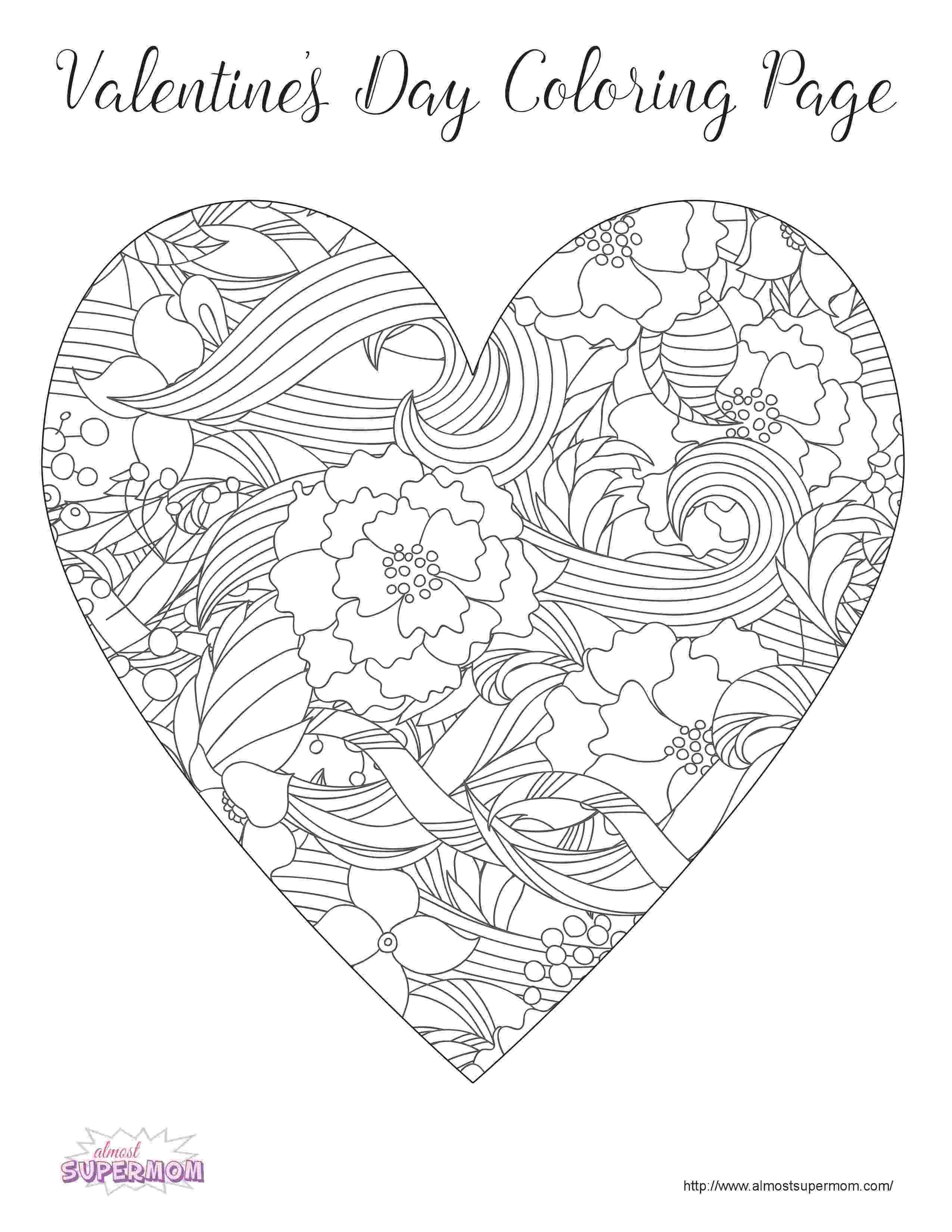 valentines day color pages colormecrazyorg valentine coloring pages color pages day valentines