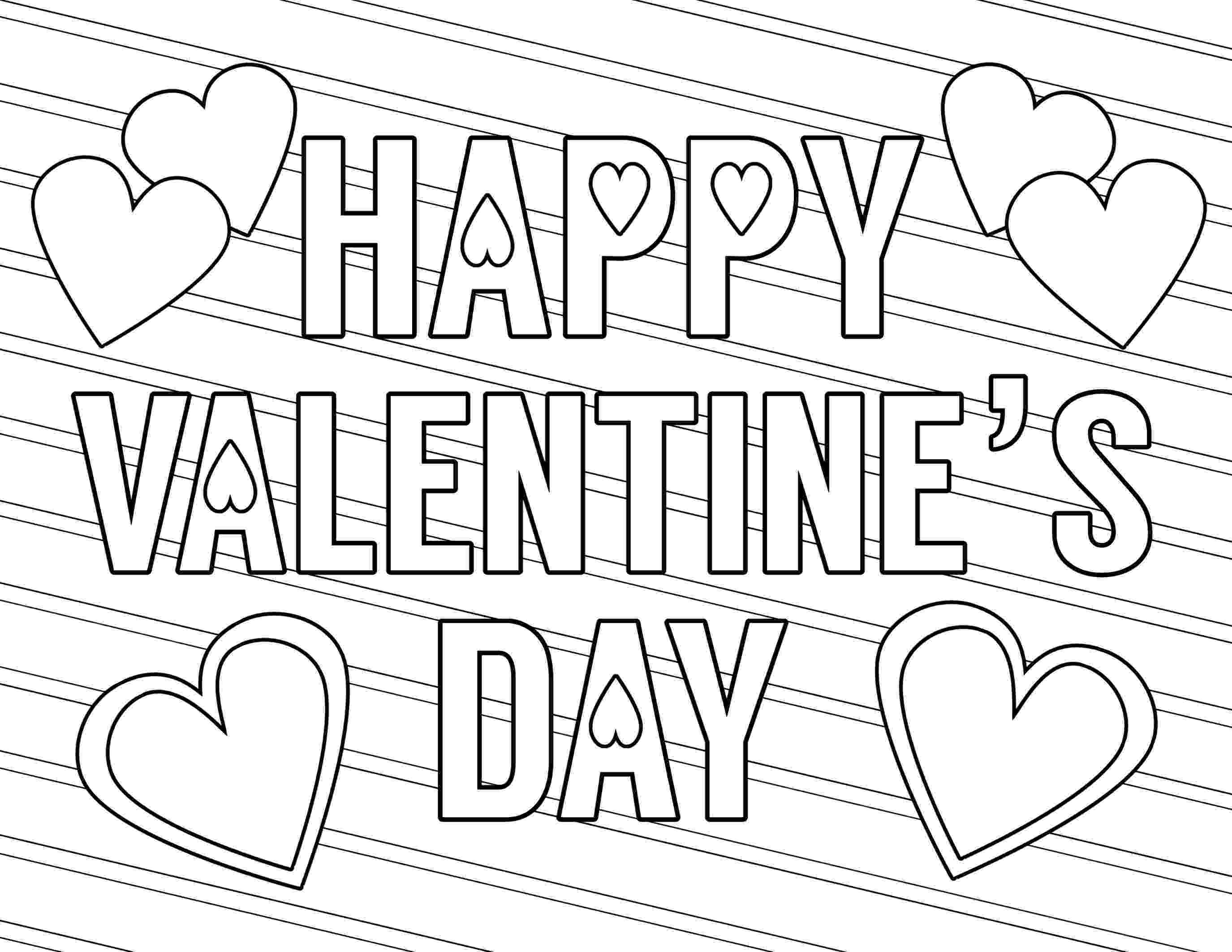 valentines day color pages free printable valentine coloring pages paper trail design pages color valentines day