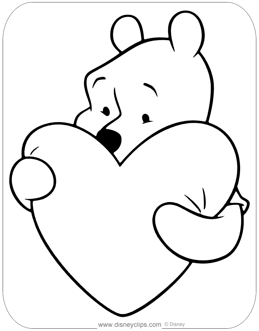 valentines day color pages valentine39s day coloring pages gtgt disney coloring pages pages color valentines day