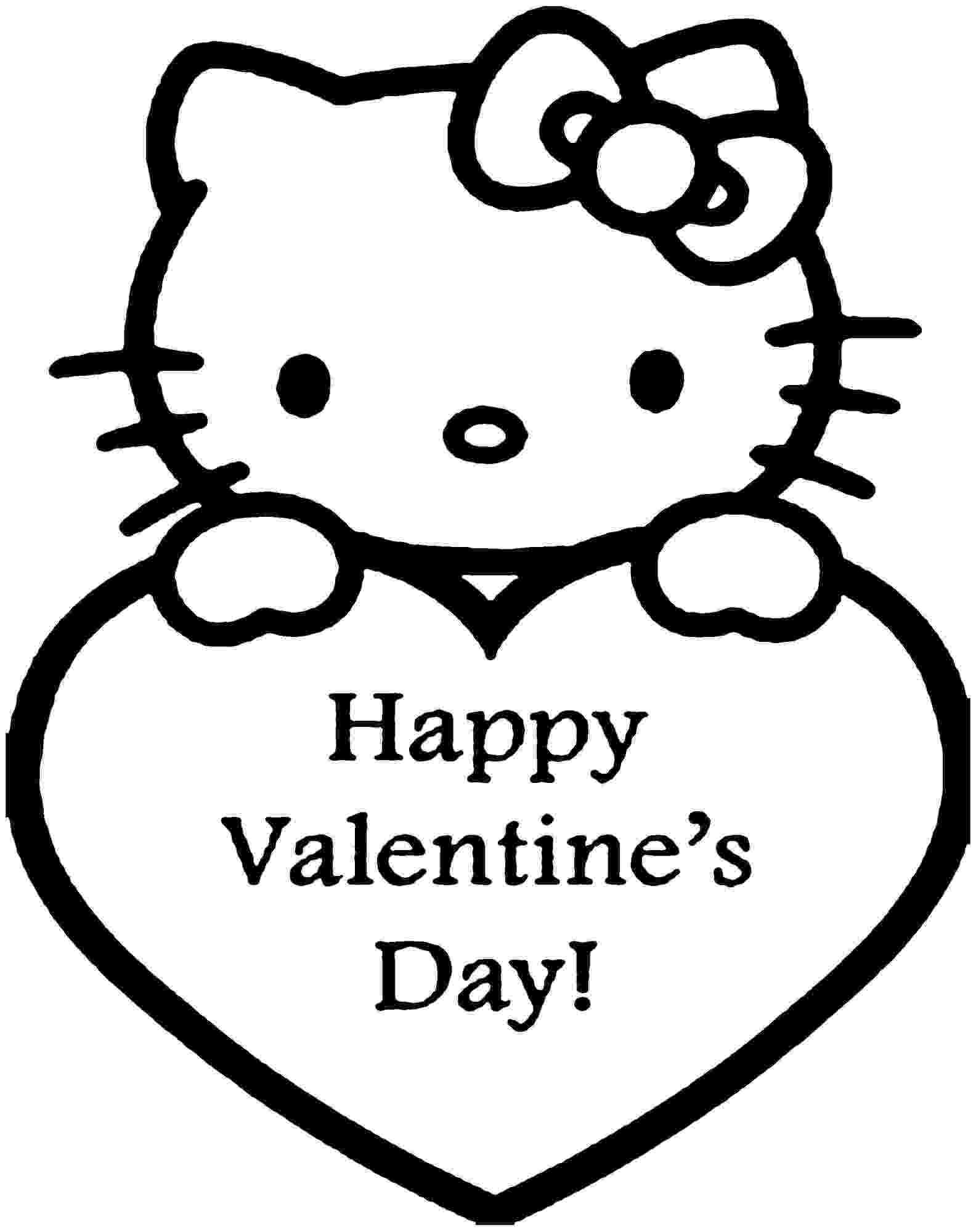 valentines day hello kitty free free hello kitty valentine coloring pages download hello valentines kitty day