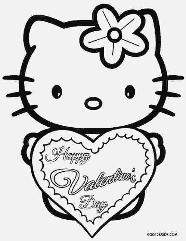valentines day hello kitty hello kitty valentines coloring pages coloring pages to kitty valentines day hello