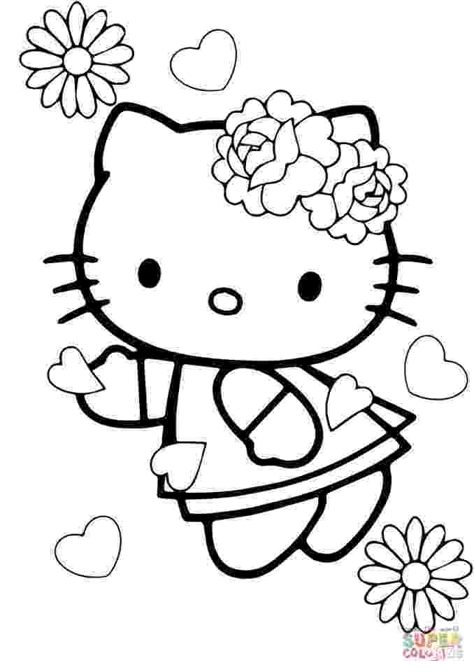 valentines day hello kitty hello kitty valentines coloring pages from printabletreats day hello valentines kitty