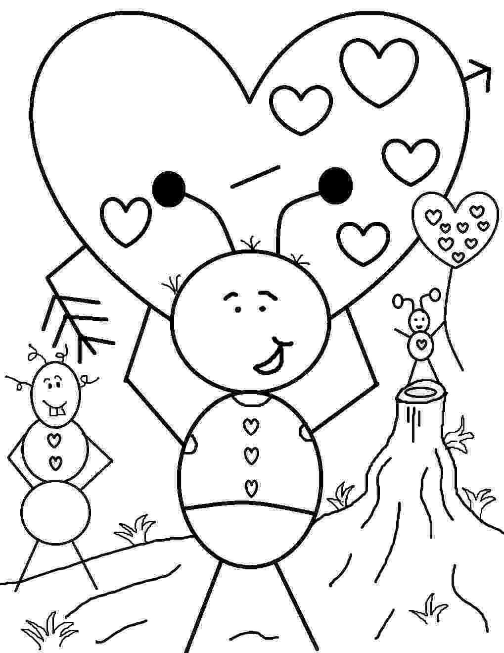 valentines pictures to color valentines coloring pages happiness is homemade valentines color pictures to