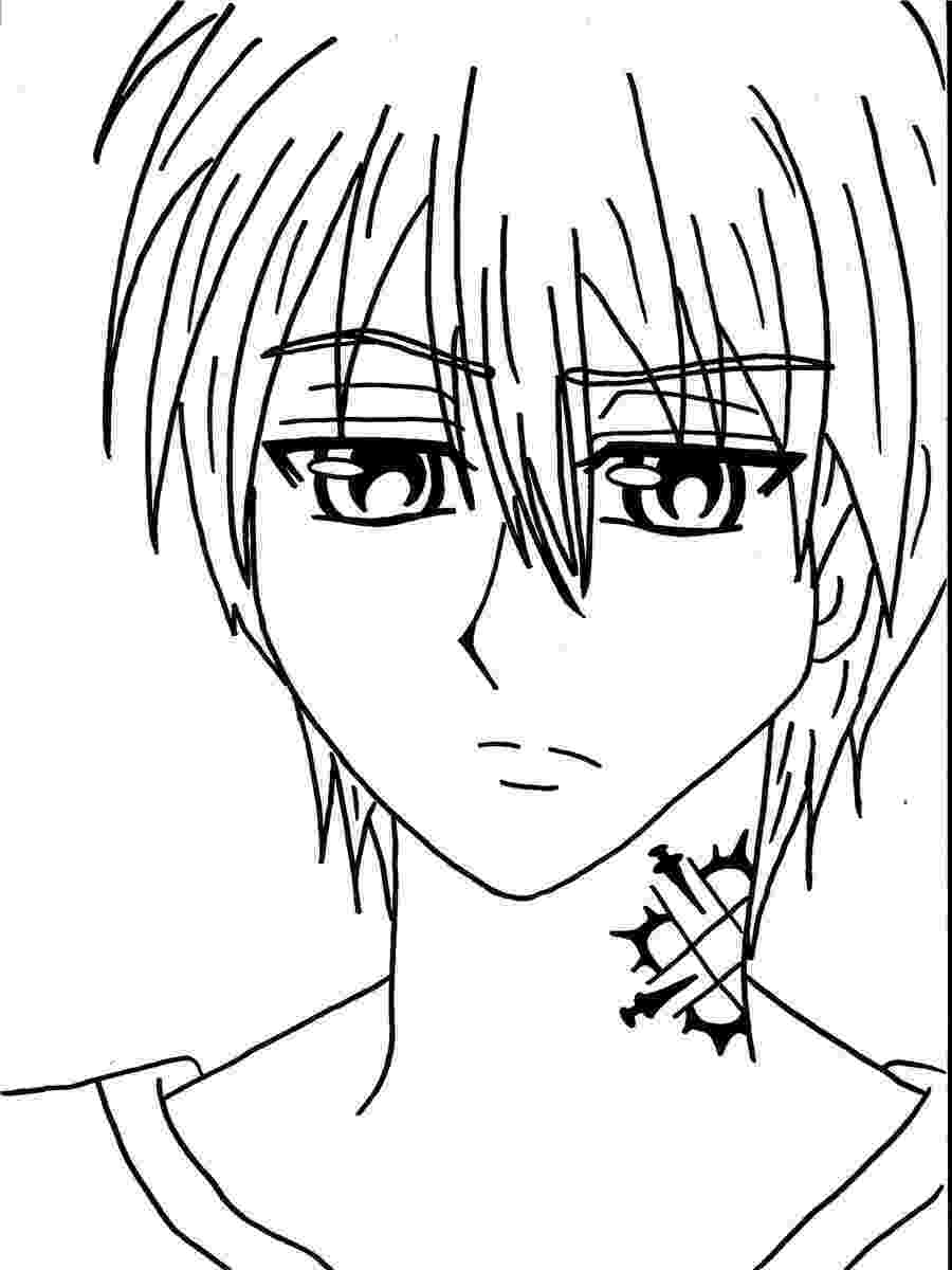 vampire knight coloring pages how to draw yuki kuran from vampire knight step by step pages knight coloring vampire