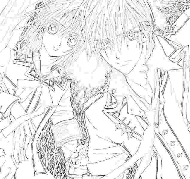 vampire knight coloring pages vampire knight 43 by ioshiklineart on deviantart vampire pages coloring knight