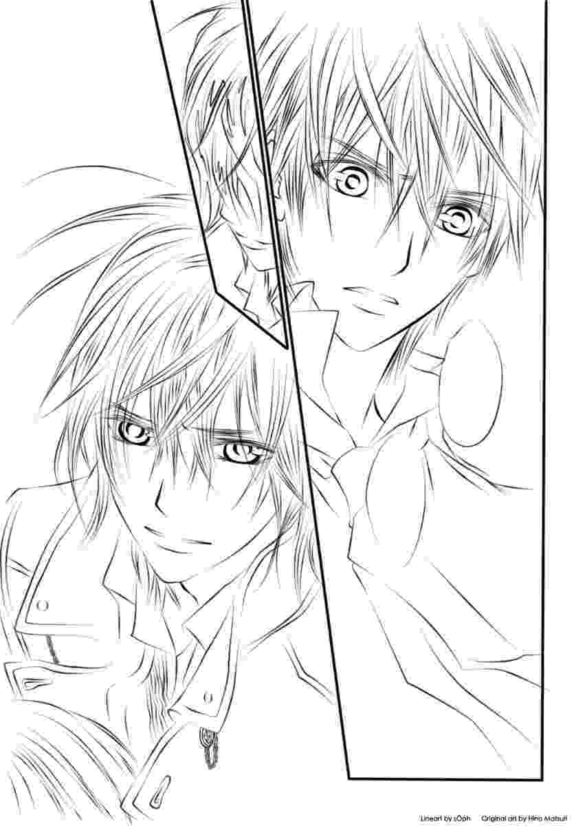 vampire knight coloring pages vampire knight lineart by himiko on deviantart coloring knight pages vampire