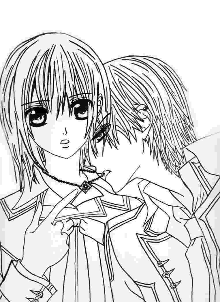 vampire knight coloring pages yukizero vampire knight by nijichu on deviantart pages coloring knight vampire