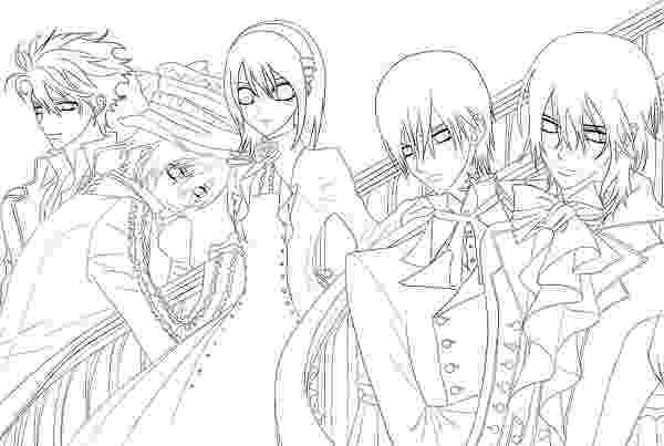 vampire knight coloring pages yuuki vampire knight lineart by dreammuffin on deviantart coloring vampire pages knight