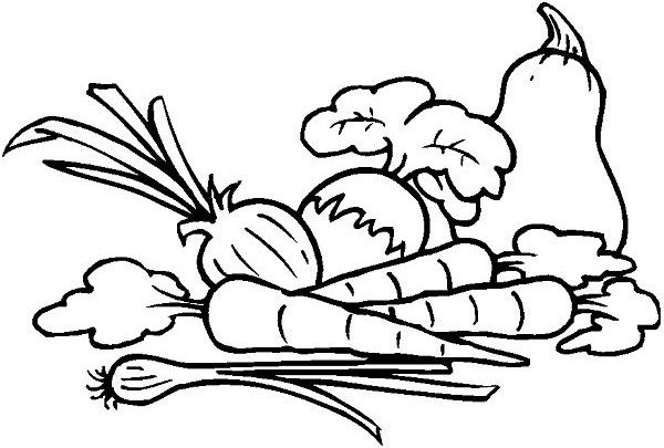 vegetables for colouring vegetable coloring pages for childrens printable for free vegetables colouring for