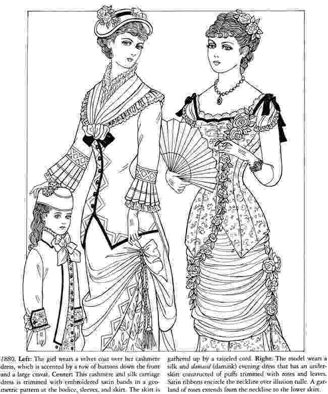 victorian coloring pages dover publications coloring books yahoo image search victorian pages coloring