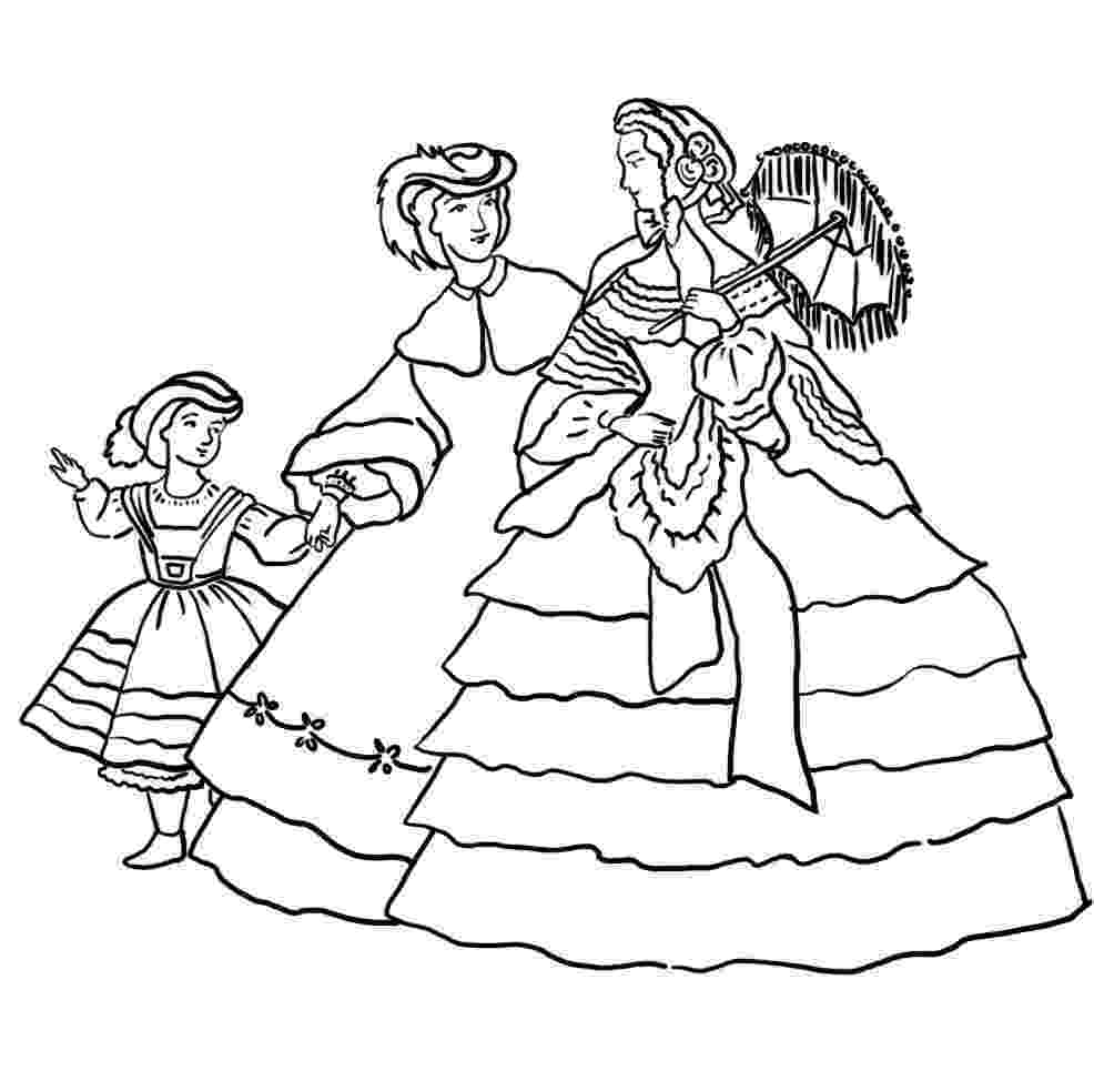 victorian coloring pages victorian printable coloring pictures pages victorian coloring 1 2