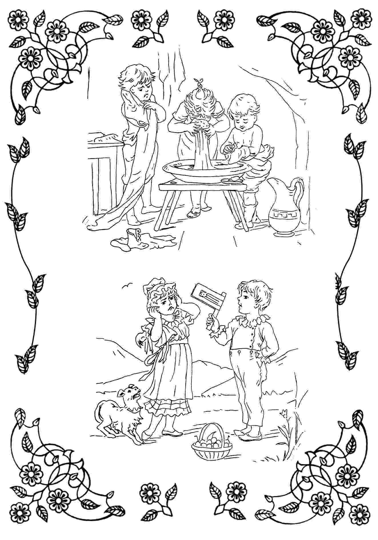 victorian coloring pages victorian printable coloring pictures pages victorian coloring 1 3