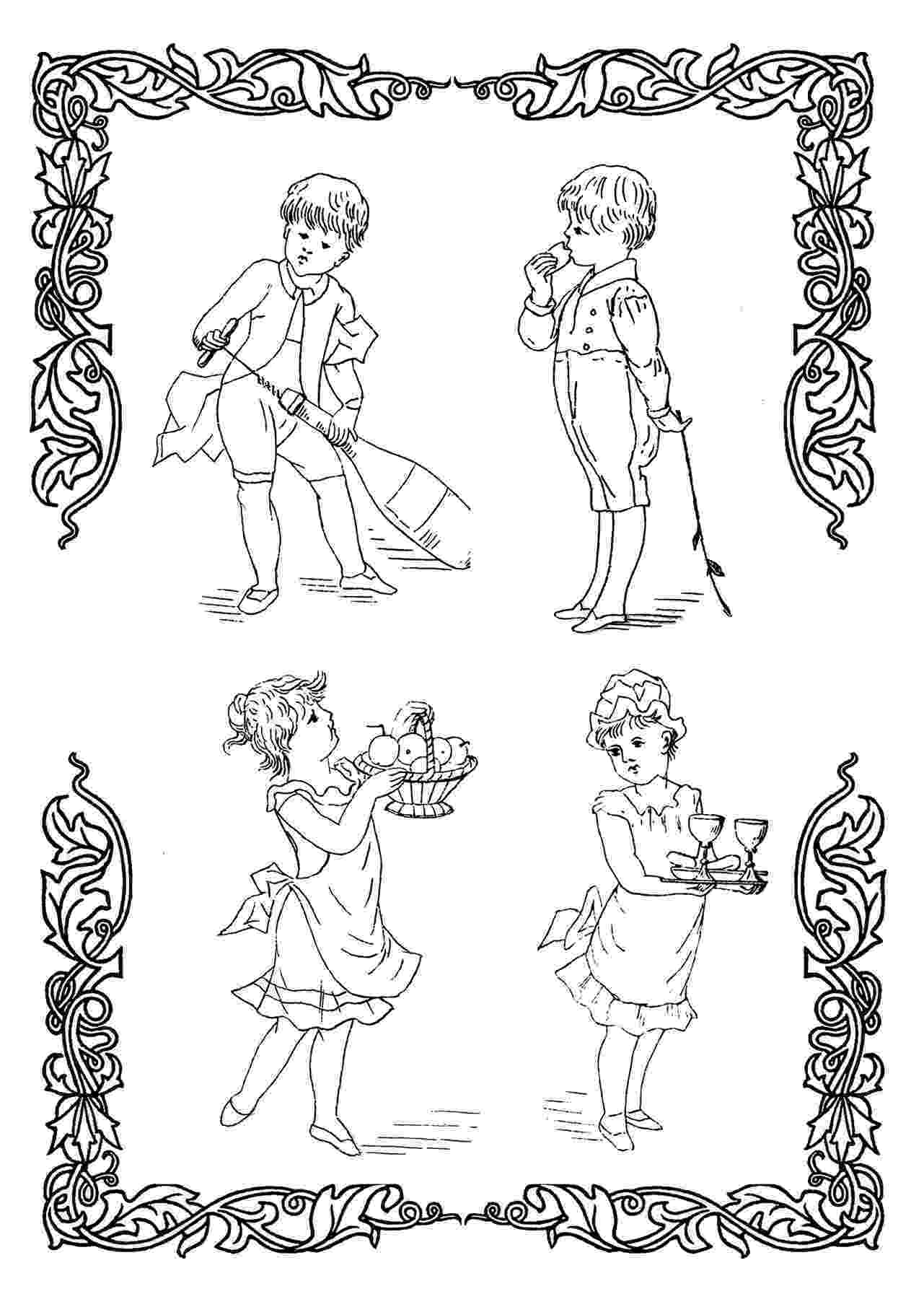 victorian coloring pages victorian printable coloring pictures victorian pages coloring
