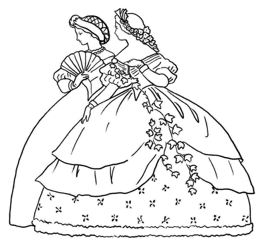 victorian coloring pages victorian woman coloring pages download and print for free victorian coloring pages