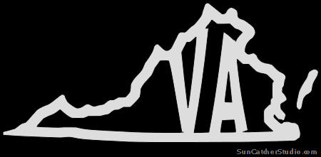 virginia vector virginia silhouette stock photos images pictures vector virginia