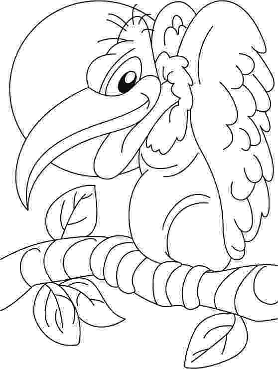 vulture coloring pages coloring vulture coloring pages vulture