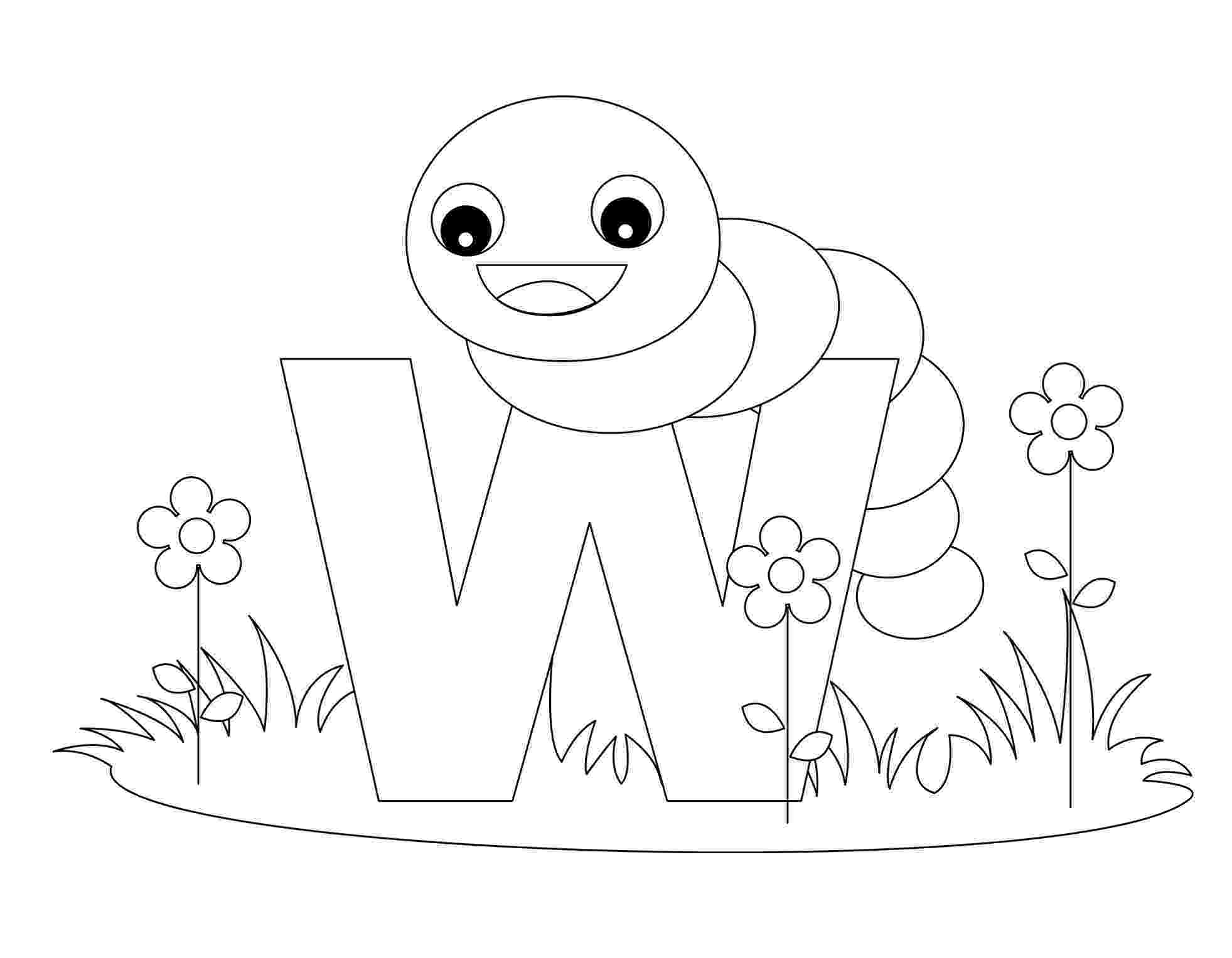w coloring sheet free printable alphabet coloring pages for kids best w sheet coloring