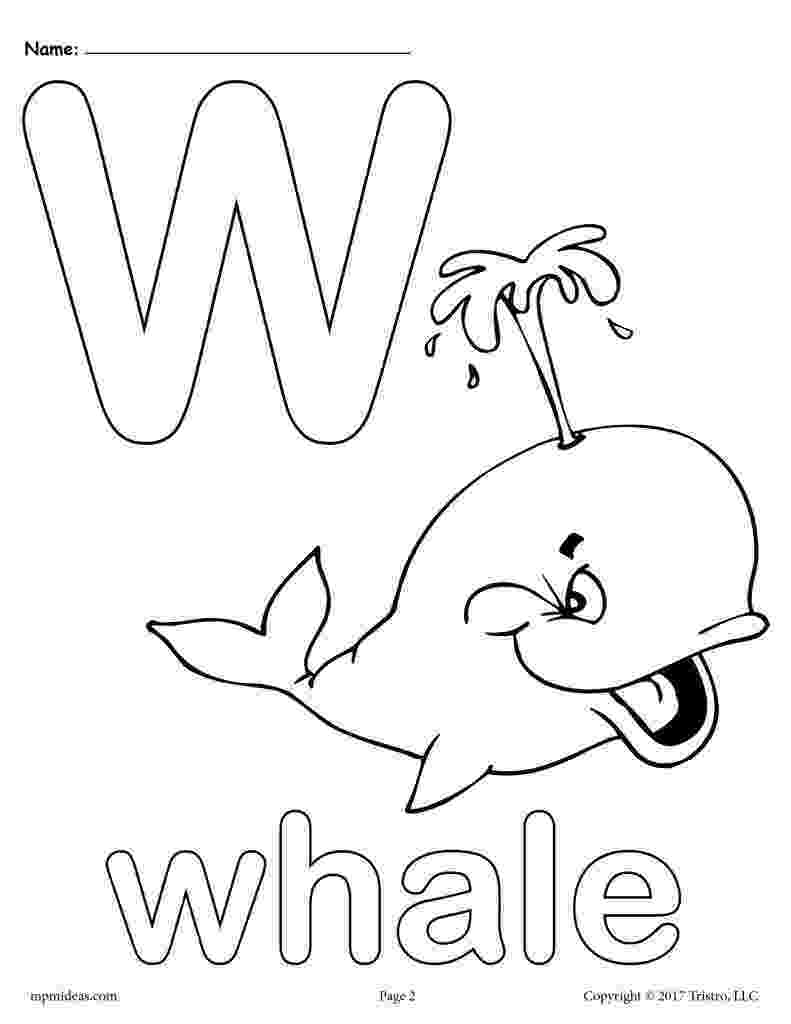 w coloring sheet letter w alphabet coloring pages 3 free printable sheet w coloring