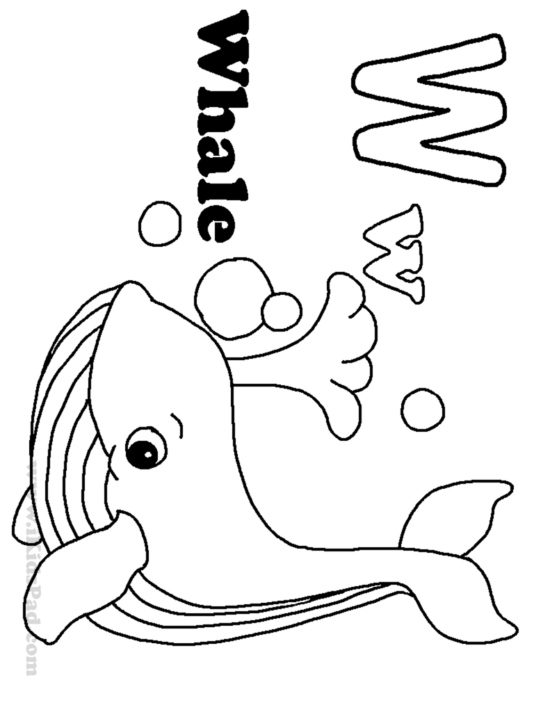 w coloring sheet letter w coloring pages for kids preschool and kindergarten sheet coloring w
