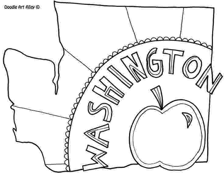 washington coloring pages 17 best images about road trip color pages on pinterest coloring washington pages