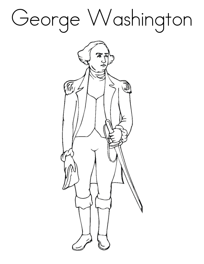 washington coloring pages george washington coloring pages best coloring pages for washington coloring pages