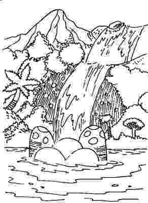 waterfall coloring page coloring pages for kids waterfall coloring pages for kids waterfall coloring page 1 2
