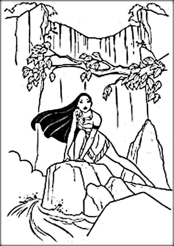 waterfall coloring page waterfall coloring pages best coloring pages for kids coloring page waterfall