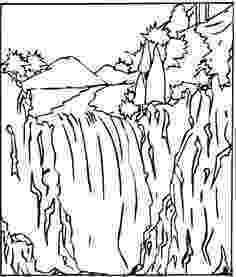 waterfall coloring page waterfall coloring pages coloring pages to download and page coloring waterfall