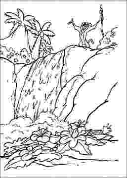 waterfall coloring page waterfall coloring pages coloring pages to download and page waterfall coloring 1 1