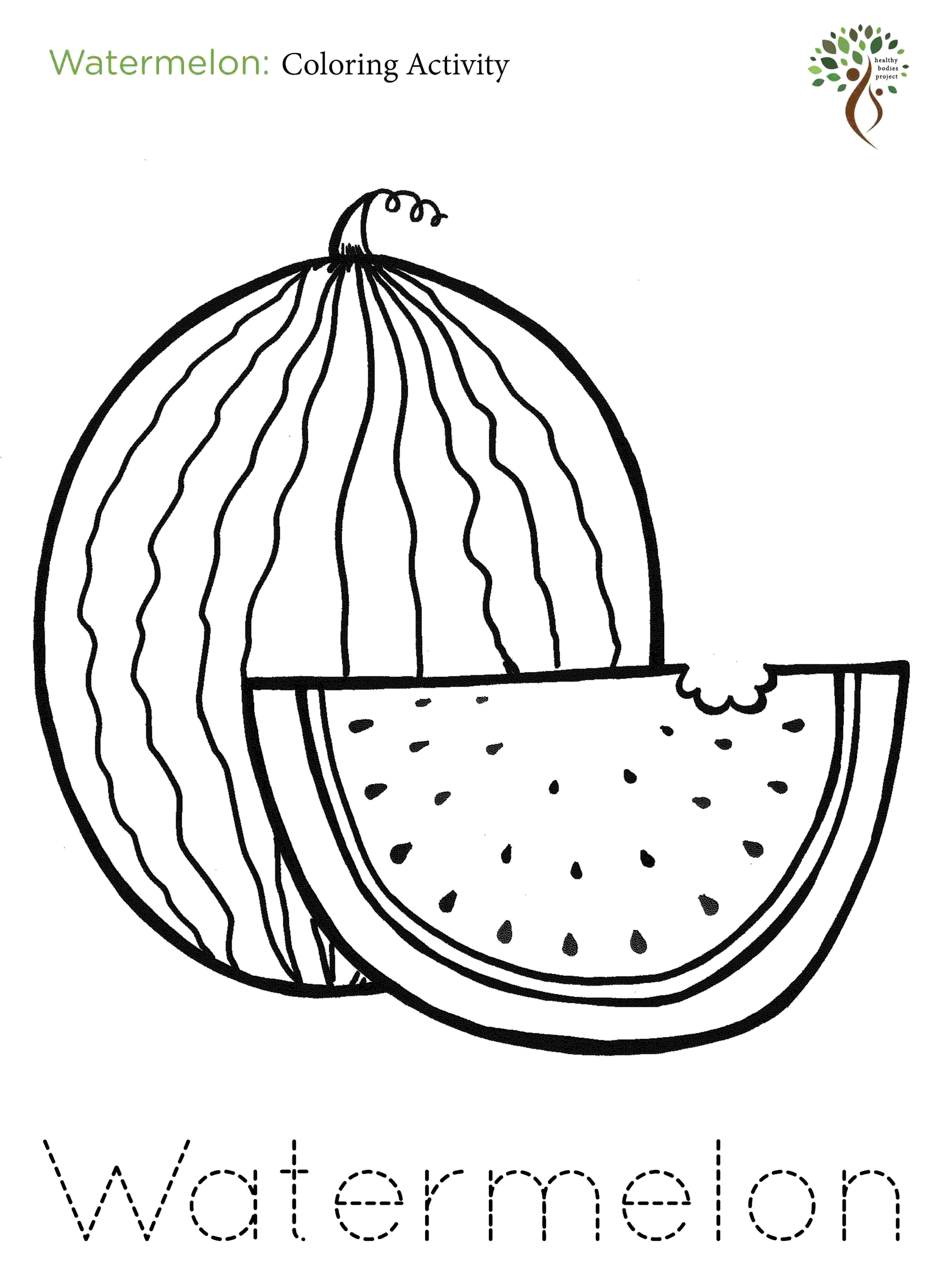 watermelon coloring sheets watermelon coloring pages to download and print for free sheets coloring watermelon