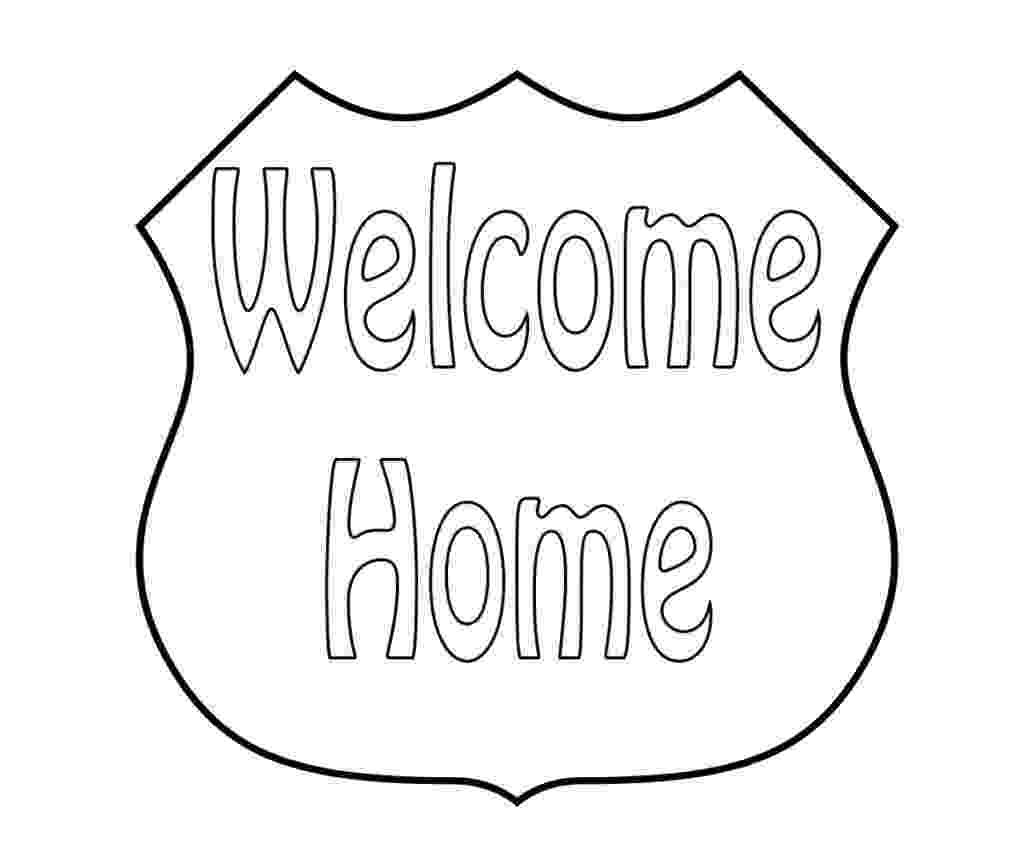 welcome home coloring pages free welcome home coloring pages coloring home pages home welcome coloring