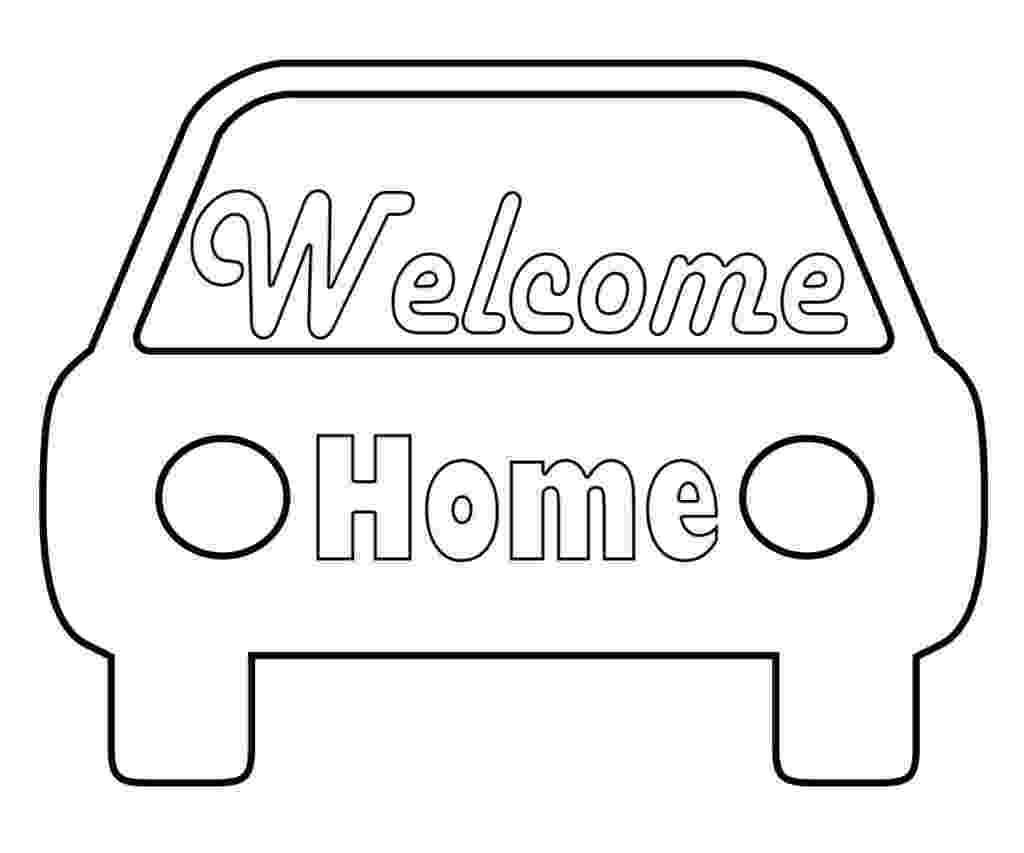 welcome home coloring pages free welcome home coloring pages coloring home welcome coloring home pages