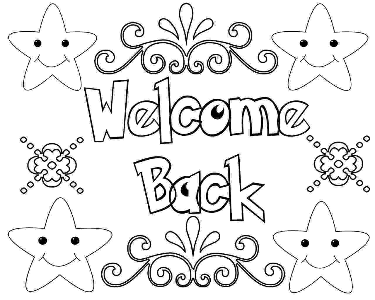 welcome home coloring pages kids holding welcome sign coloring page wecoloringpagecom coloring pages home welcome