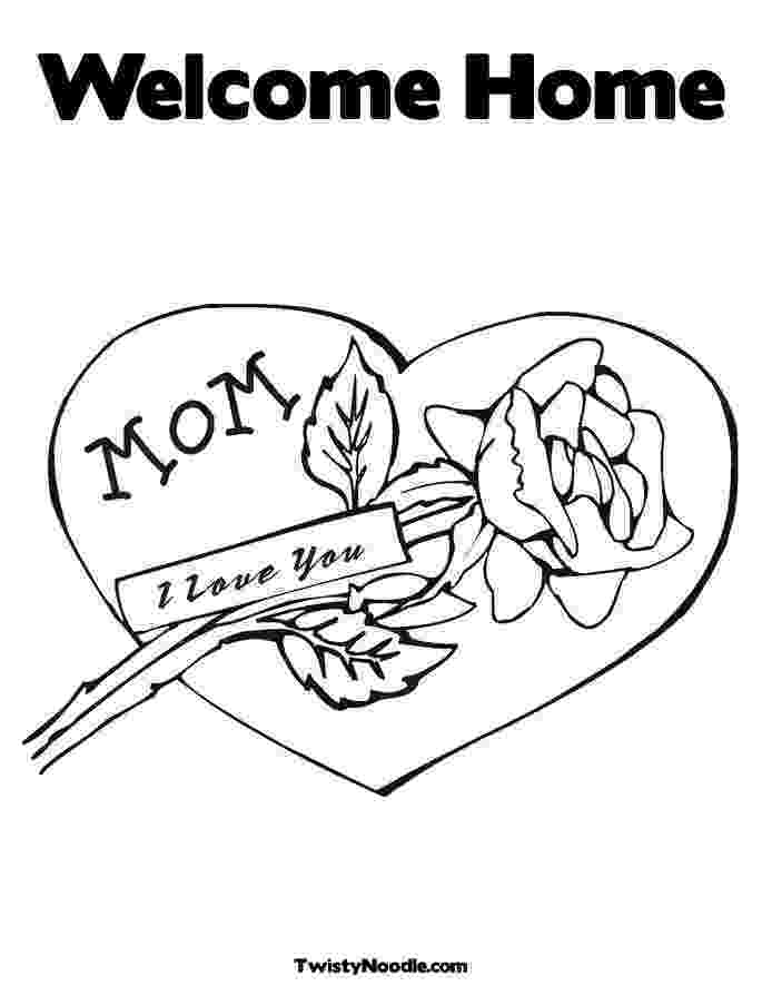 welcome home coloring pages welcome back coloring pages home welcome coloring pages