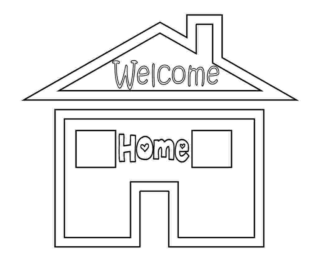 welcome home coloring pages welcome back coloring pages kindergarten coloring pages welcome coloring pages home