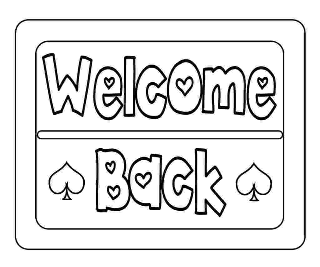 welcome home coloring pages welcome home mom pages coloring pages home welcome coloring pages