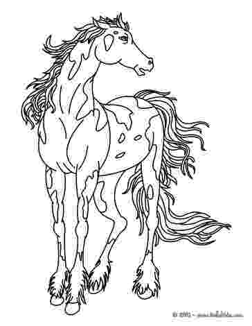 wild horse pictures to color wild horse coloring pages hellokidscom to horse wild color pictures