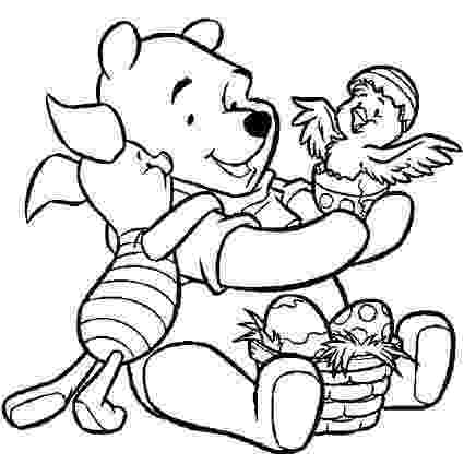winnie the pooh easter coloring pages winnie the pooh coloring pages and easter egg decorating easter the winnie pooh pages coloring
