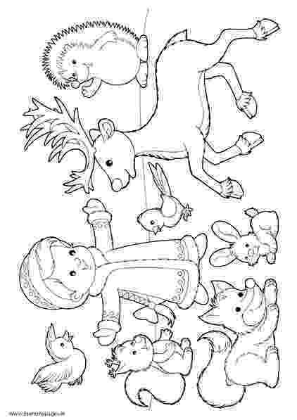 winter animals coloring pages children39s drawing class to include winter animals and coloring animals winter pages