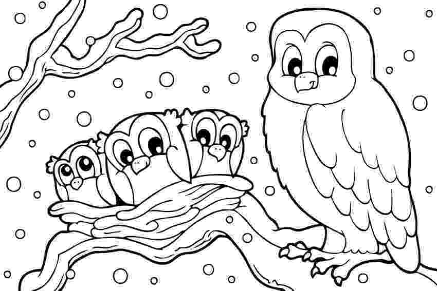 winter animals coloring pages winter animal coloring pages getcoloringpagescom animals winter coloring pages