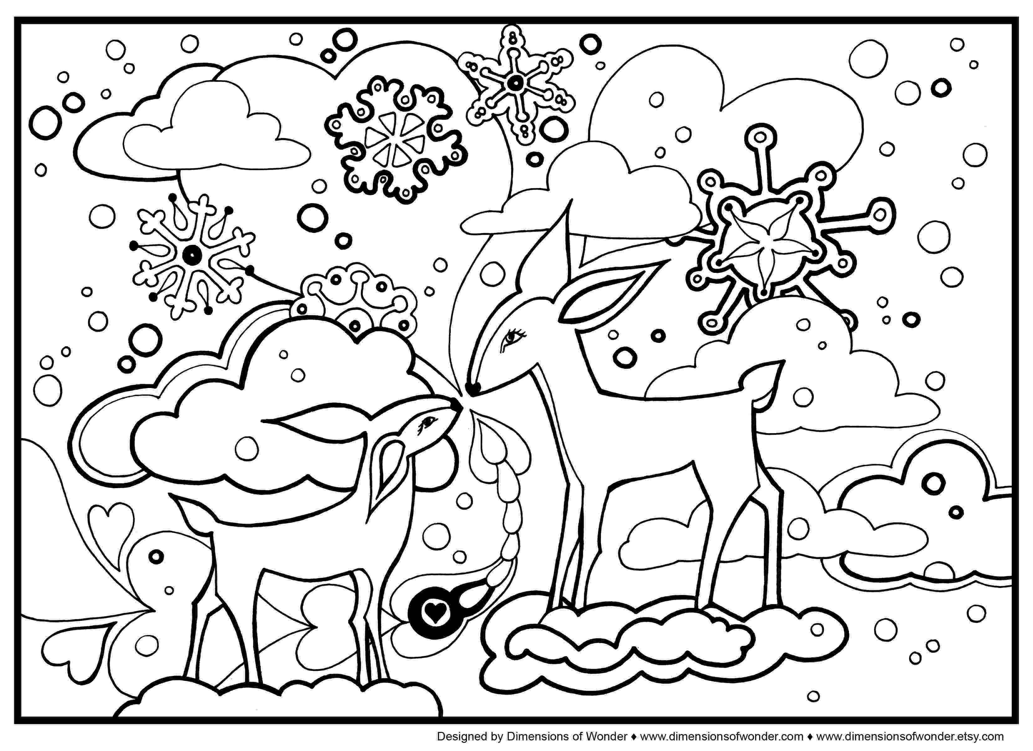 winter animals coloring pages winter animals drawing at getdrawingscom free for pages winter animals coloring